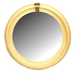 Mid-Century Modern Springer Round Wall Mirror