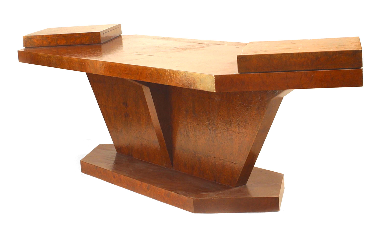 Italian Burl Birch Conference Table