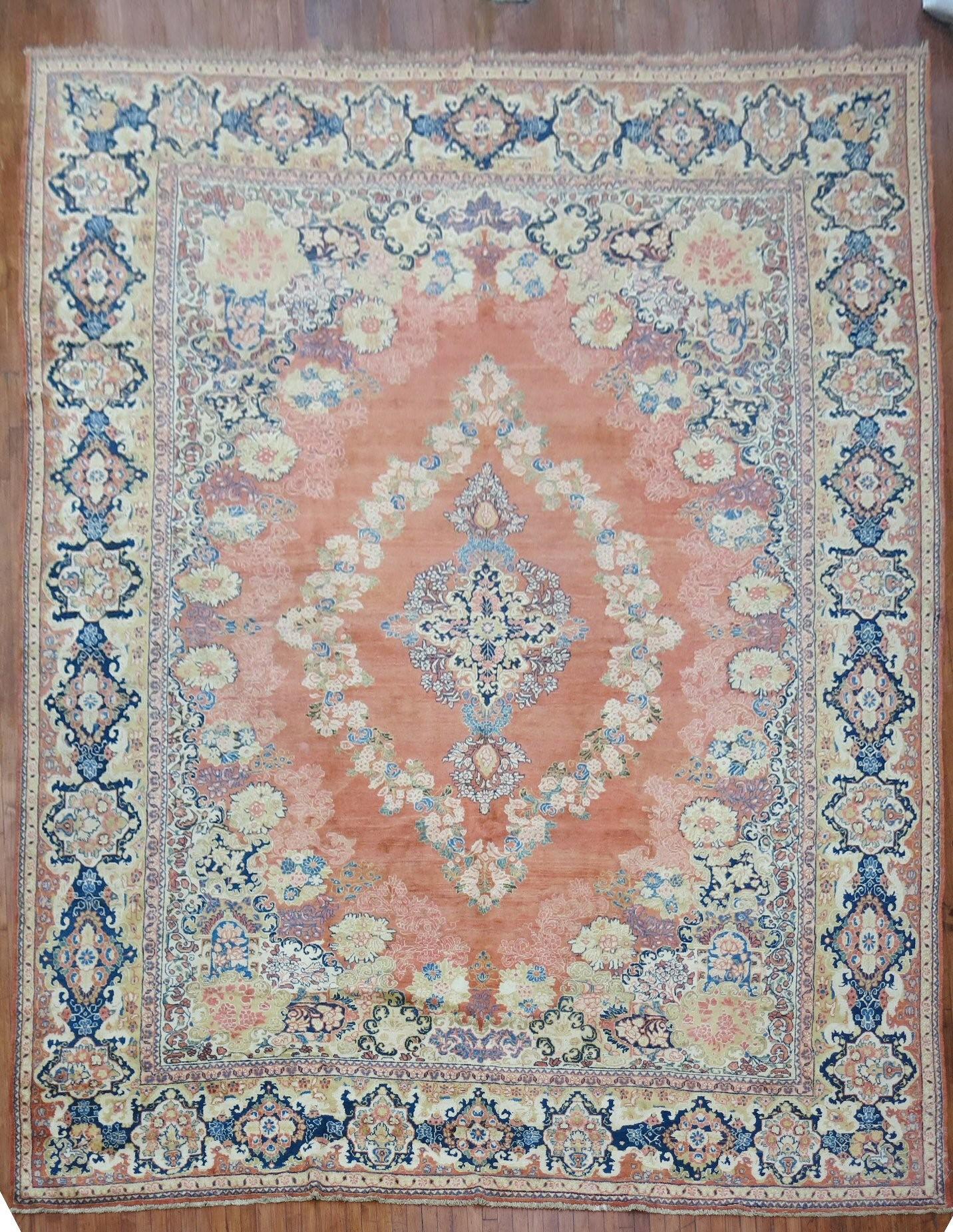 Antique Sarouk Rug rug no. r3381